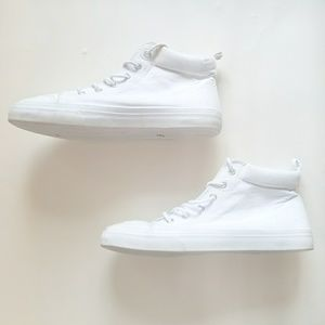 H&M All White High Tops💥💕